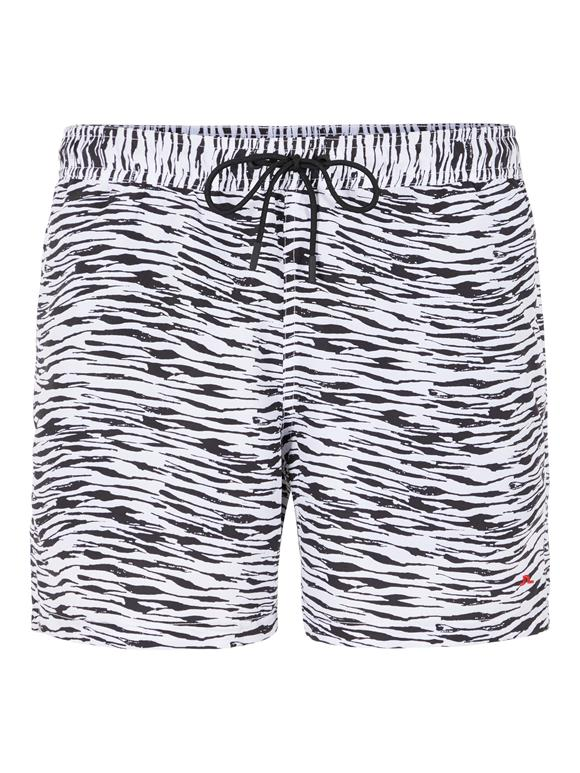 Banks Patterned Swim Trunk