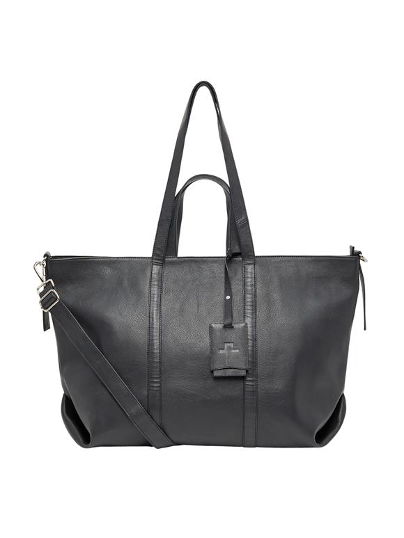 Leather Zip Shopper
