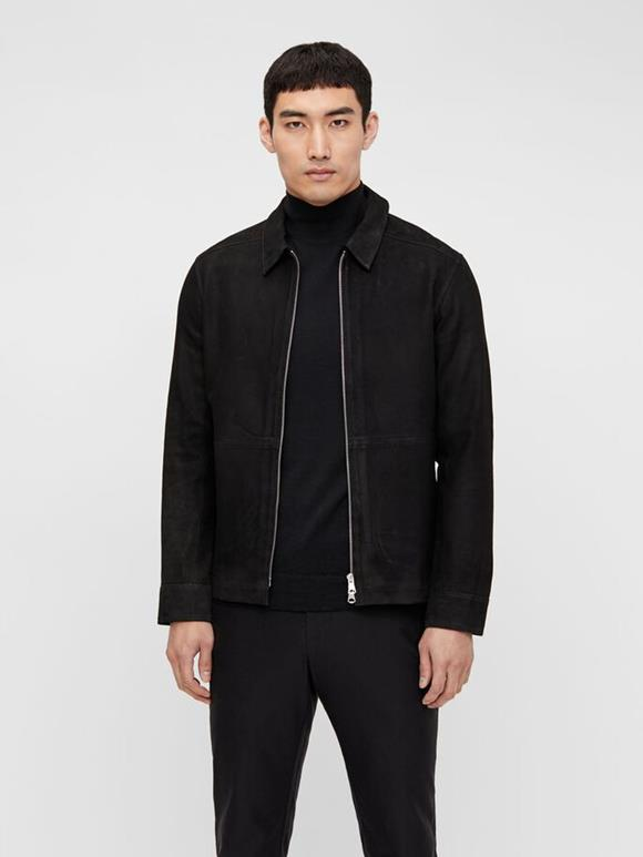 Jonah Zip Suede Jacket