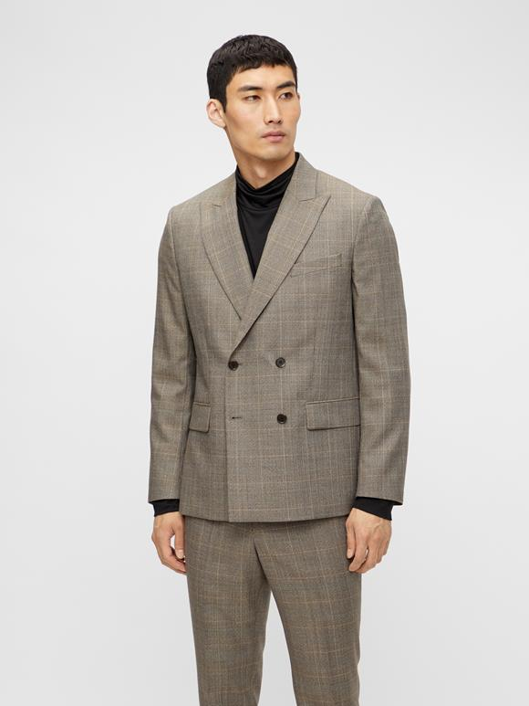 Dorian Checked Blazer