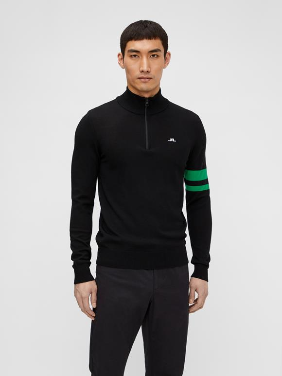 Abel Quarter Zip Sweater
