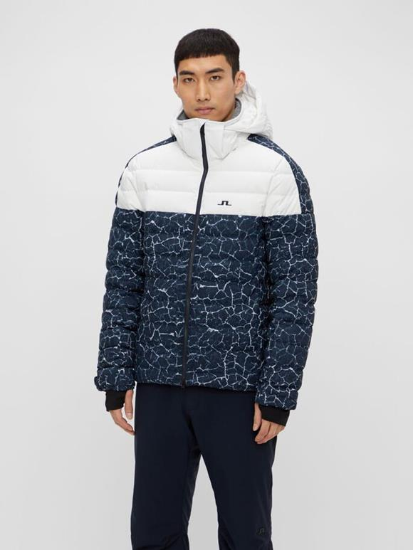 Todd Printed Down Ski Jacket