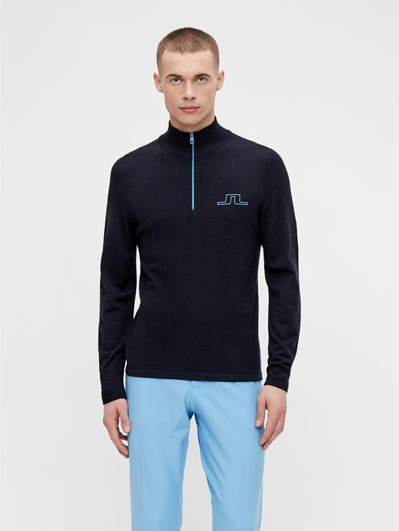 Max Zipped Golf Sweater