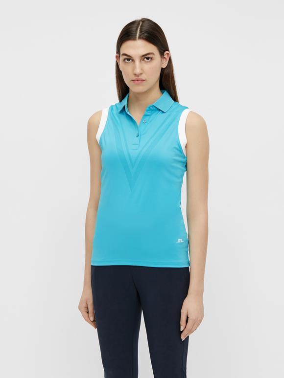 Lucie Sleeveless Golf Top