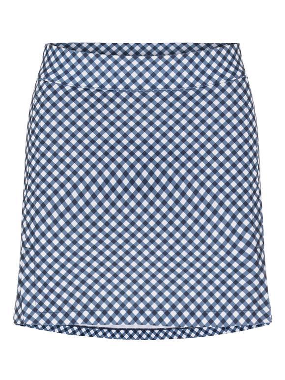 Amelie Printed Mid-Length Golf Skirt