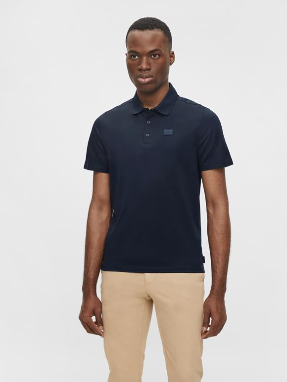 Miles Jersey Polo Shirt