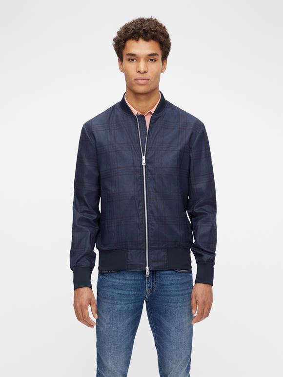 Thom Tartan Check Jacket