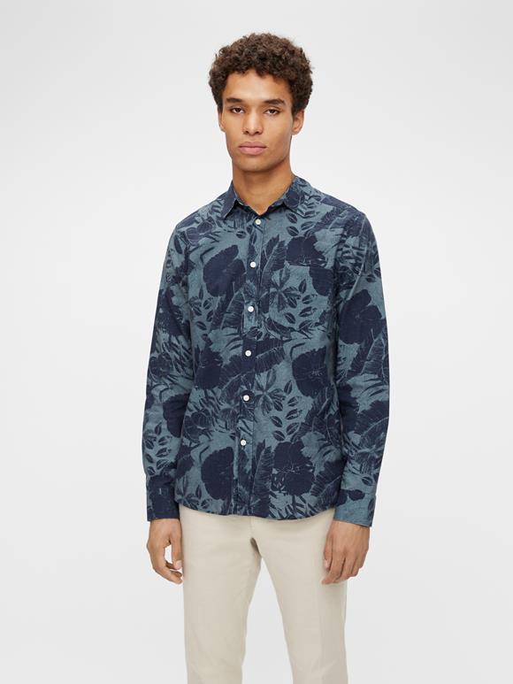 Seasonal Print Fit Shirt