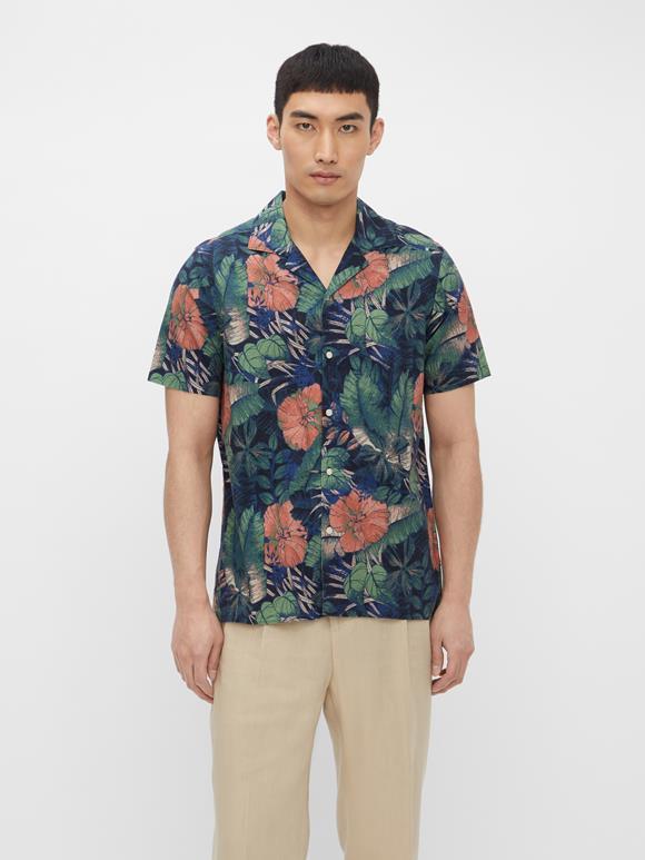 Seasonal Print Resort Shirt