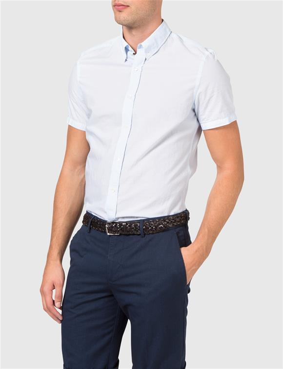 Dani SS BD Washed Stripe Shirt