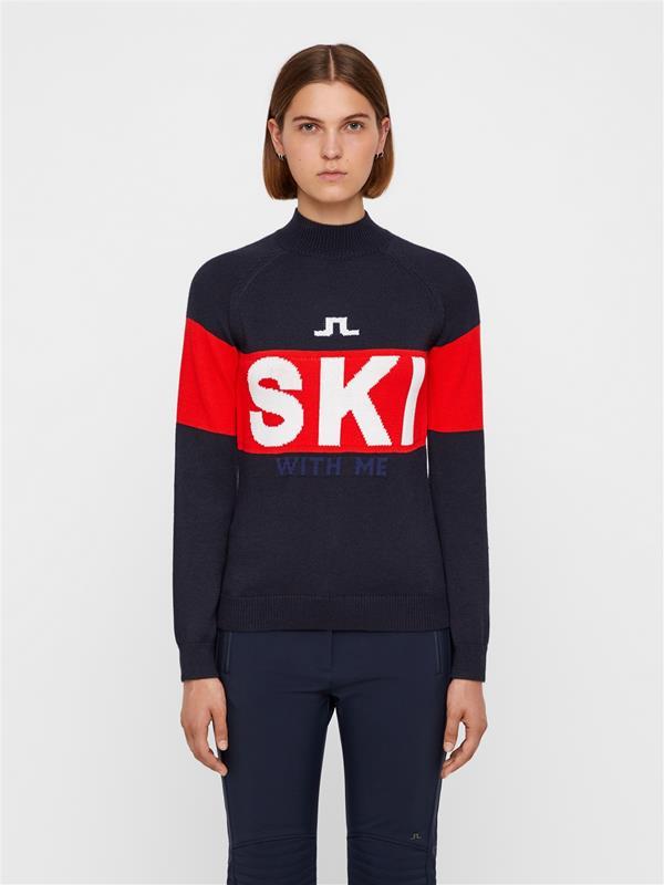 LINDEBERG Womens Daisy Turtleneck Sweater J
