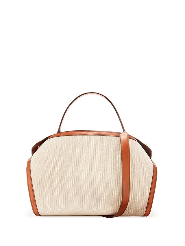 Canvas And Leather Baby Nolo Bag