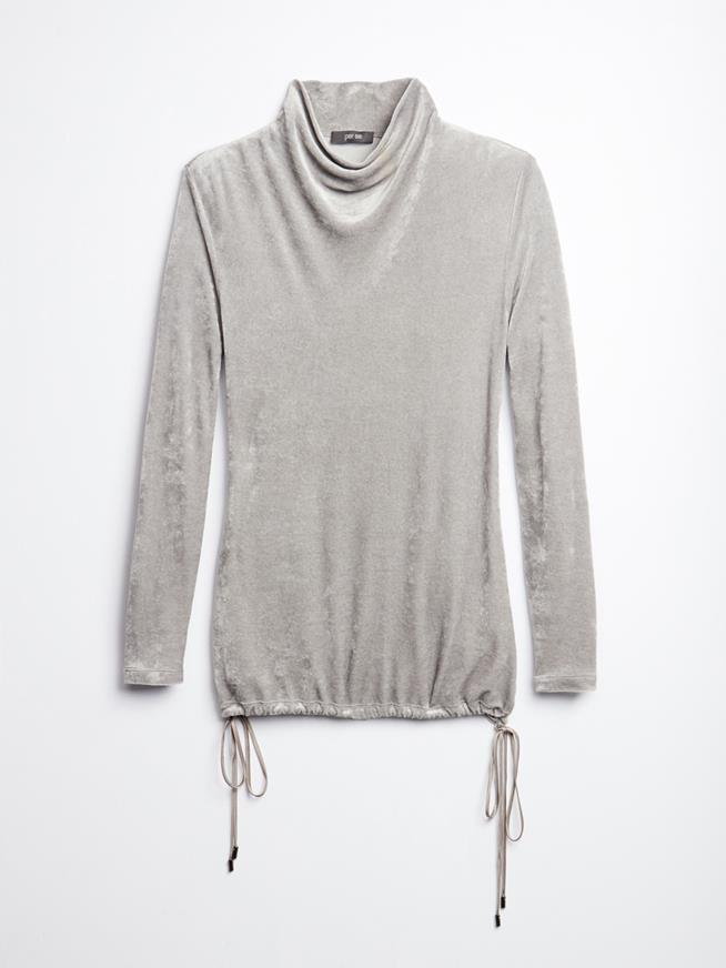 RUCHED GREY