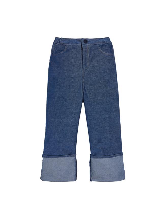 Denim Corduroy Pants  Indigo