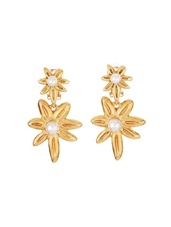 Stars Earrings  Gold