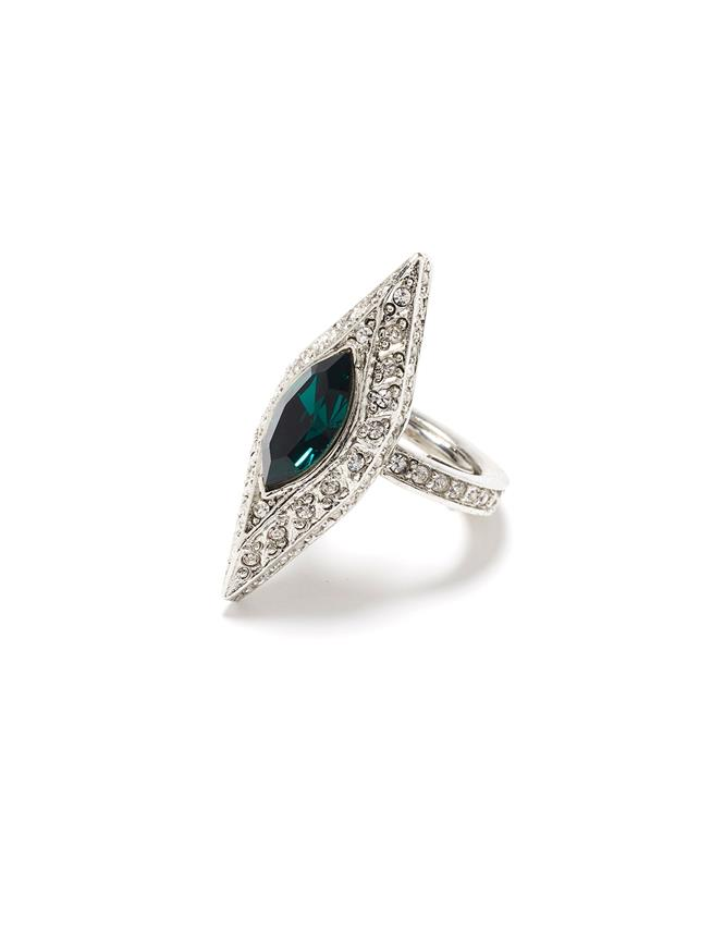 Crystal Ring  Emerald