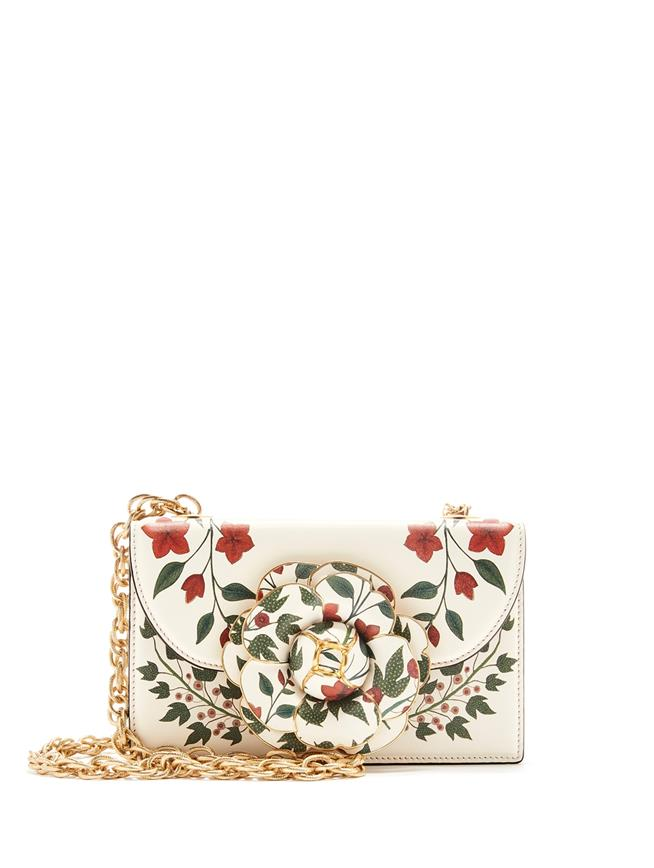 Printed Leather TRO Bag Multi