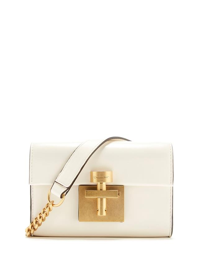 Ivory Leather Alibi Belt Bag Ivory