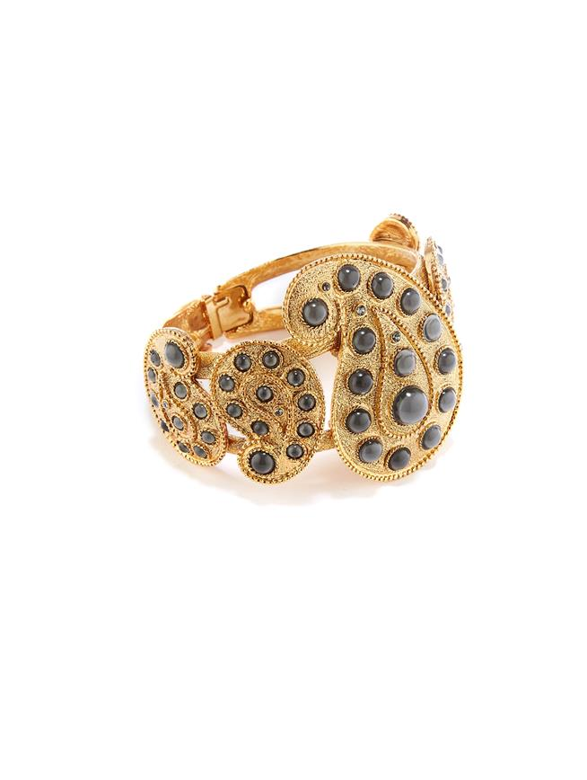 Taj Bracelet  Black diamond