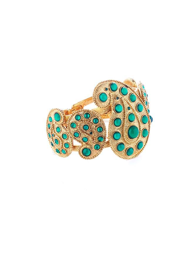 Taj Bracelet  Emerald