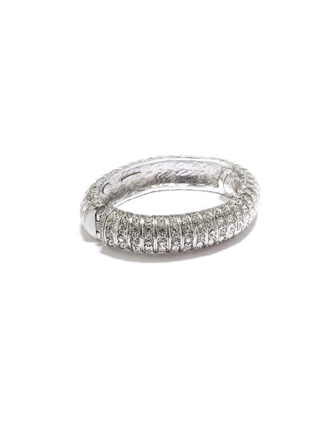 Pavé Caterpillar Bracelet  Crystal