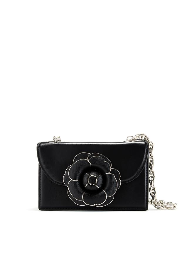 Black Saffiano TRO Bag Black