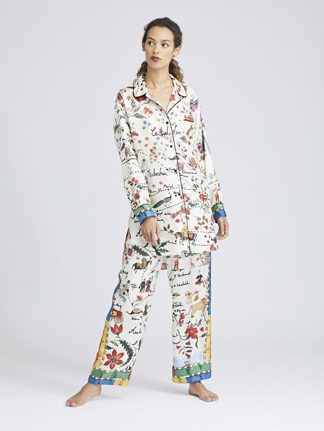 Silk Road King Twill Pajama Pants MULTI