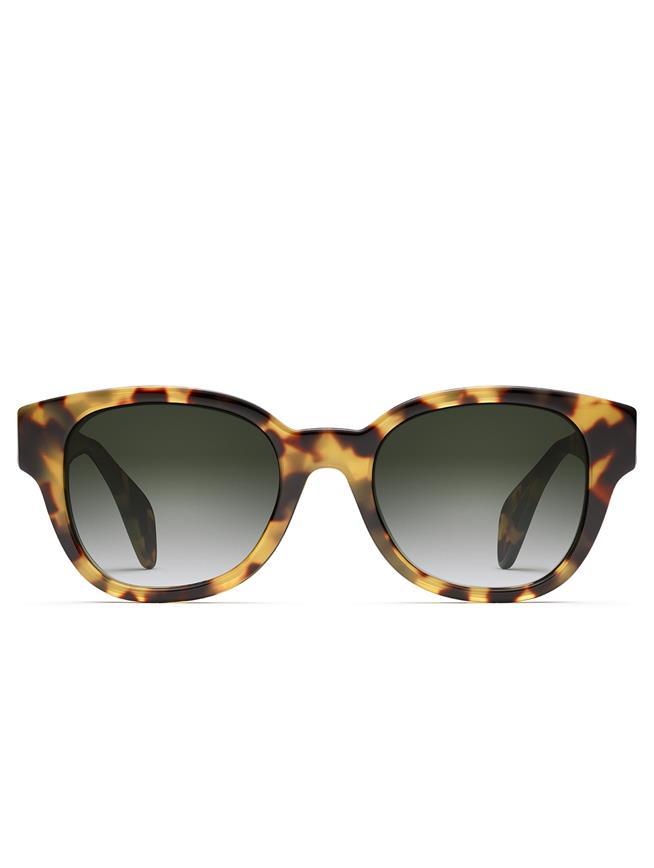 Oscar de la Renta x Morgenthal Frederics Sabrina Sunglasses Spotty Tortoise
