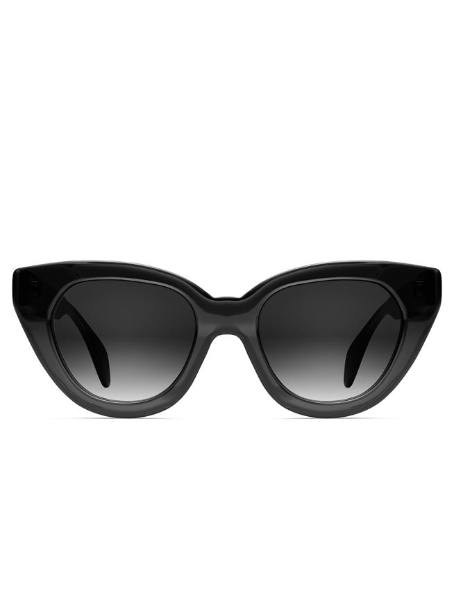 OSCAR DE LA RENTA X MORGENTHAL FREDERICS HOLLY SUNGLASSES Black