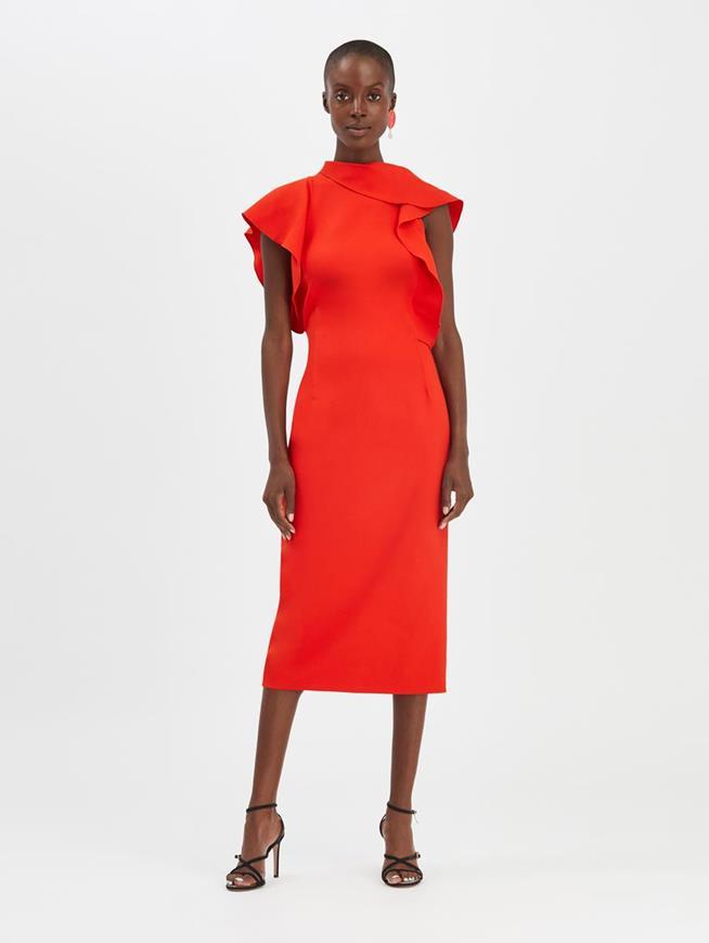 Poppy Ruffled Dress Poppy