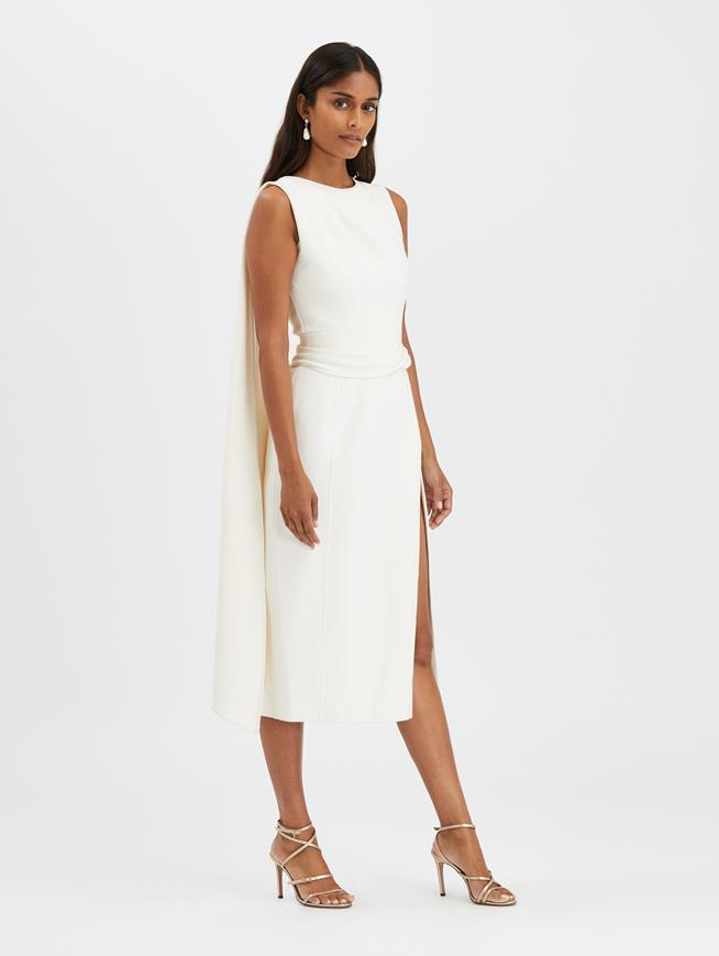 Pencil Dress Ivory