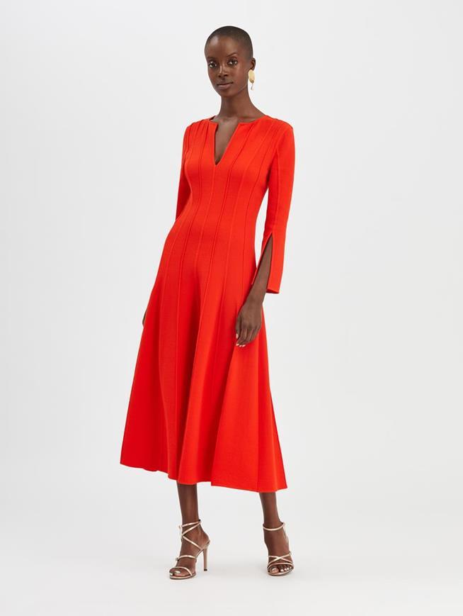 Split Dress Poppy