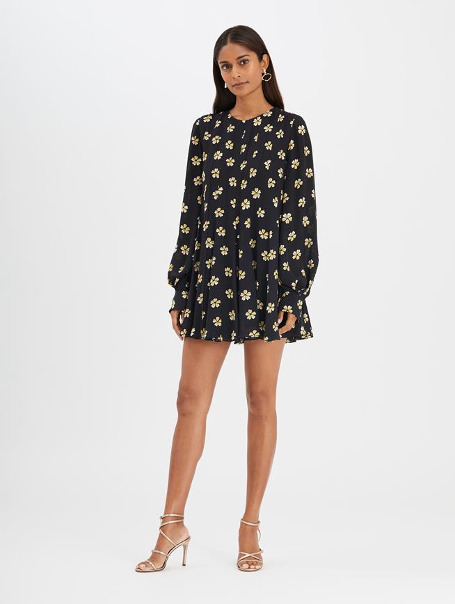 Blossom Dress Black