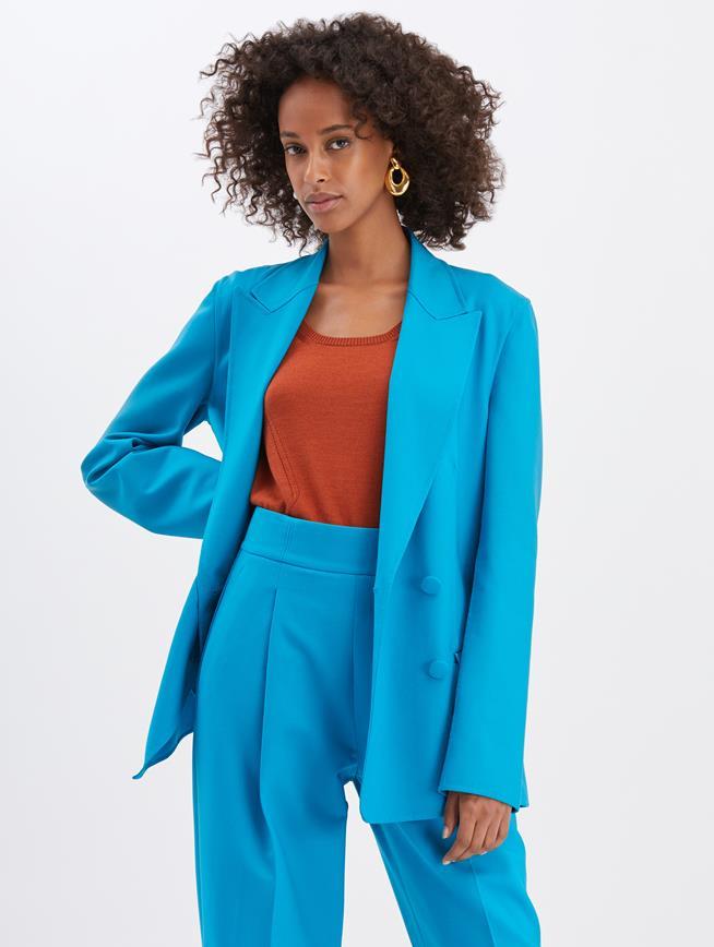Turquoise Blazer Turquoise