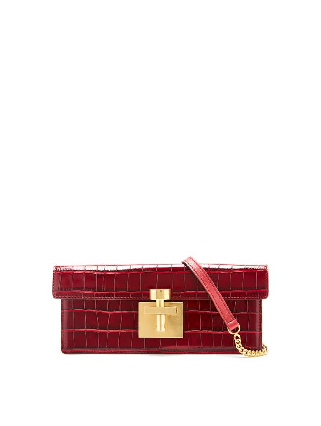 Ruby Alibi Clutch Ruby