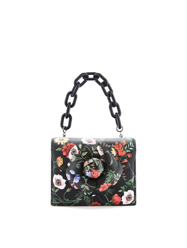 Printed Mini TRO Bag Black Multi