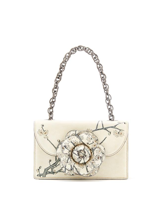 Printed TRO Bag White Multi