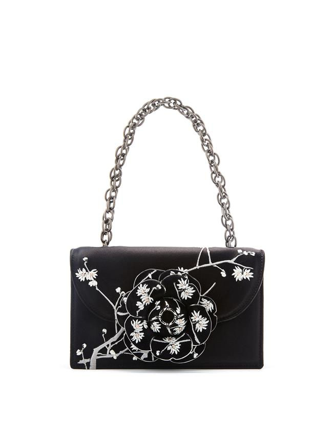 Embroidered TRO Bag Black