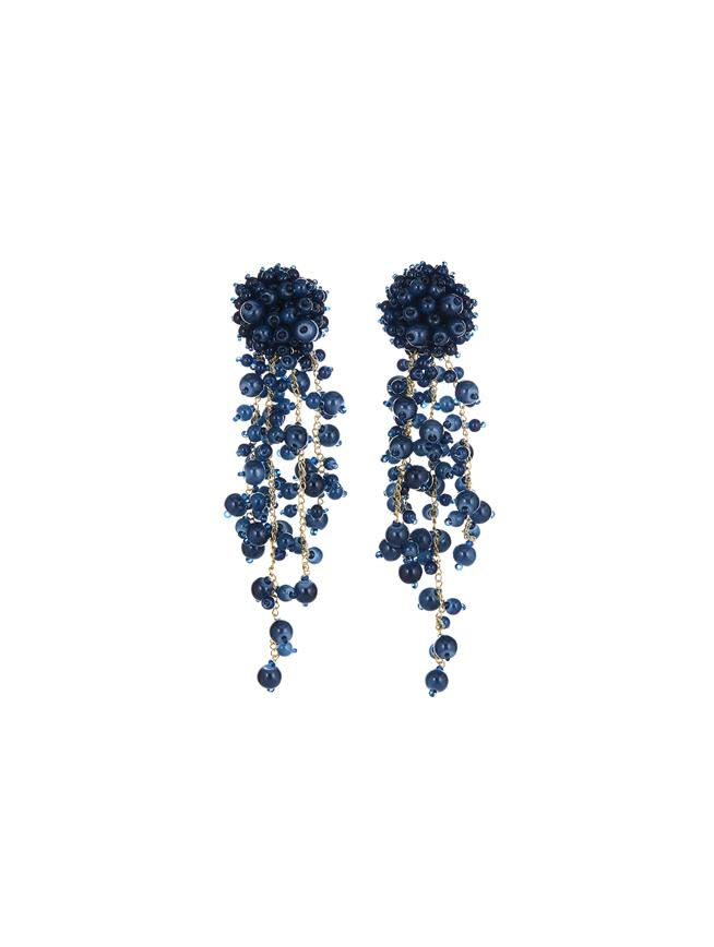 Cascade Earrings Azure