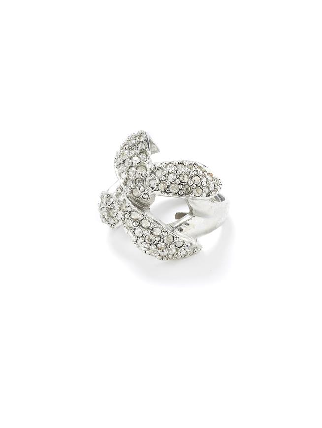Pavé Chain Ring Crystal
