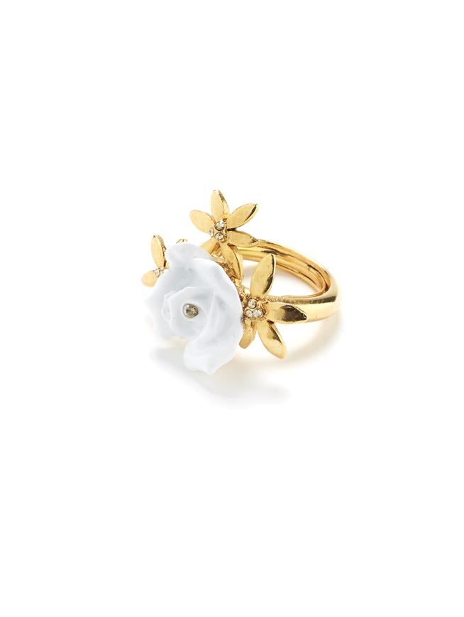 Rose Ring White