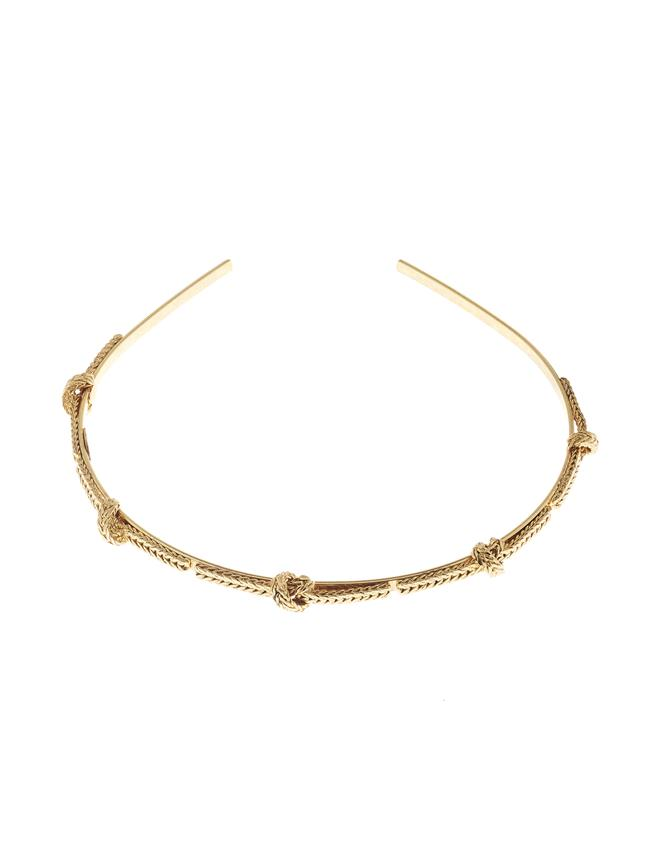 Braided Headband Gold