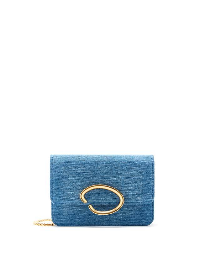 O Chain Wallet Blue