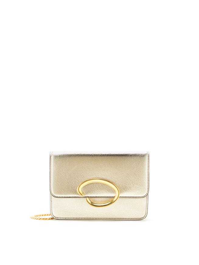 O Chain Wallet Light Gold