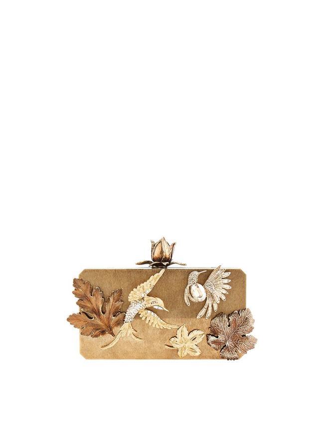 Lovebird Clutch Gold