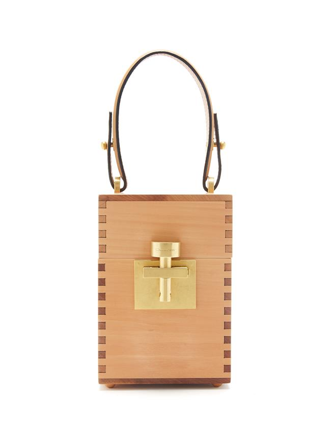 Wood Alibi Bag Blush
