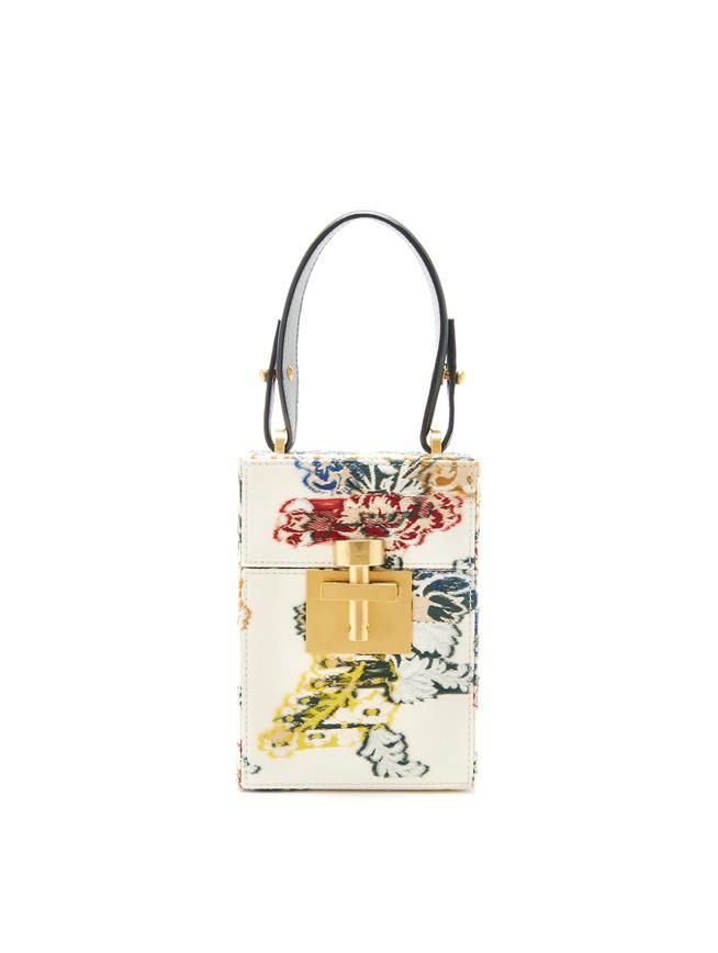 Floral Alibi Bag Ivory