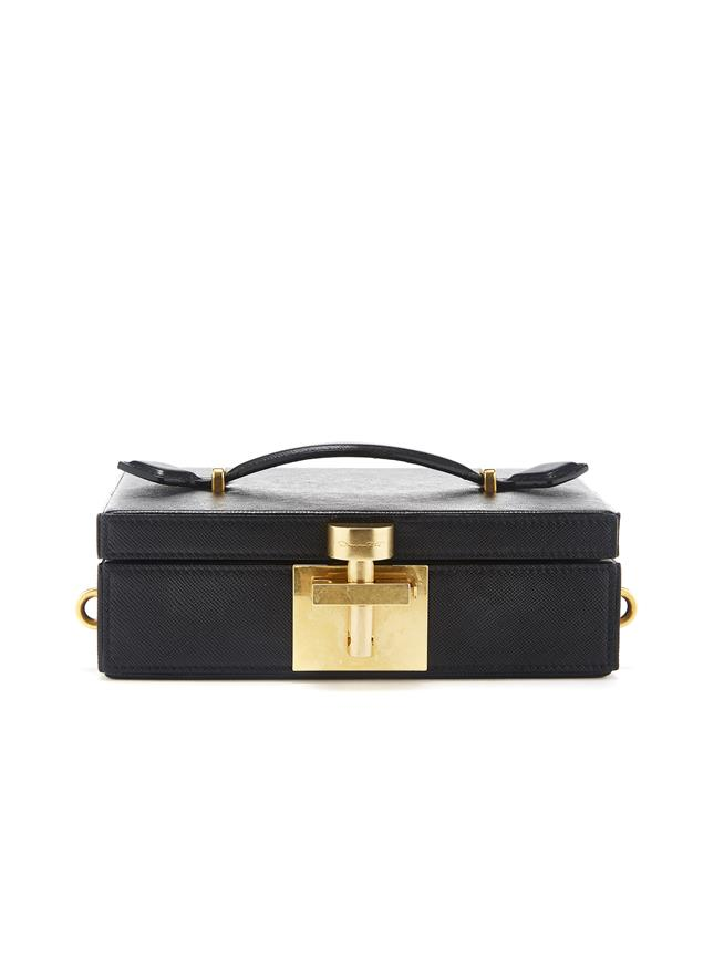 Black Alibi Clutch Black
