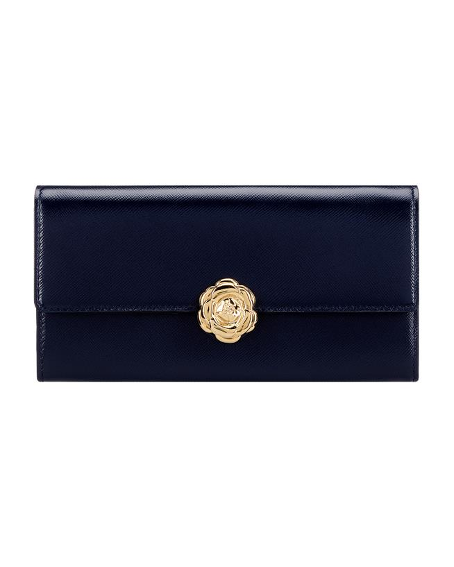 Navy Continental Wallet Navy