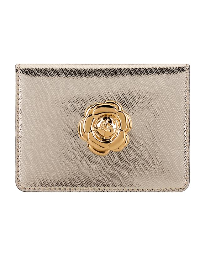 Light Gold Card Case Light gold